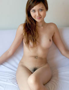 Mei Ling is a tiny asian girls with hairy bush
