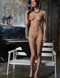 Exciting wonderful Maari in long black dress