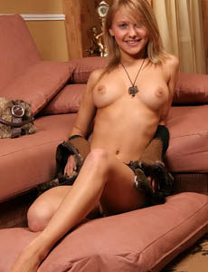 Sweet busty goddess Liliya