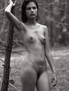 Wonderful naked hairy pussy Agneska