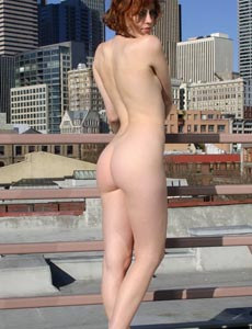 Sweet naked hairy pussy Genevieve