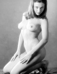 Sweet puffy nipples Karina