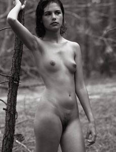 Wonderful naked hairy pussy Agneska